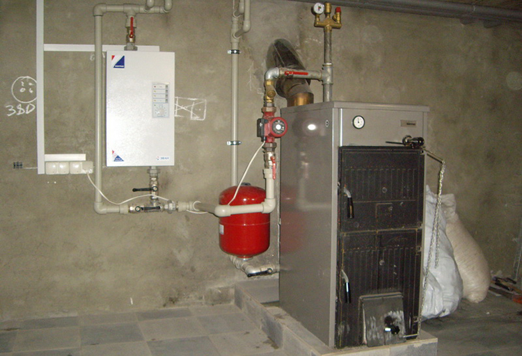 Электрокотел в частного дома своими руками 998